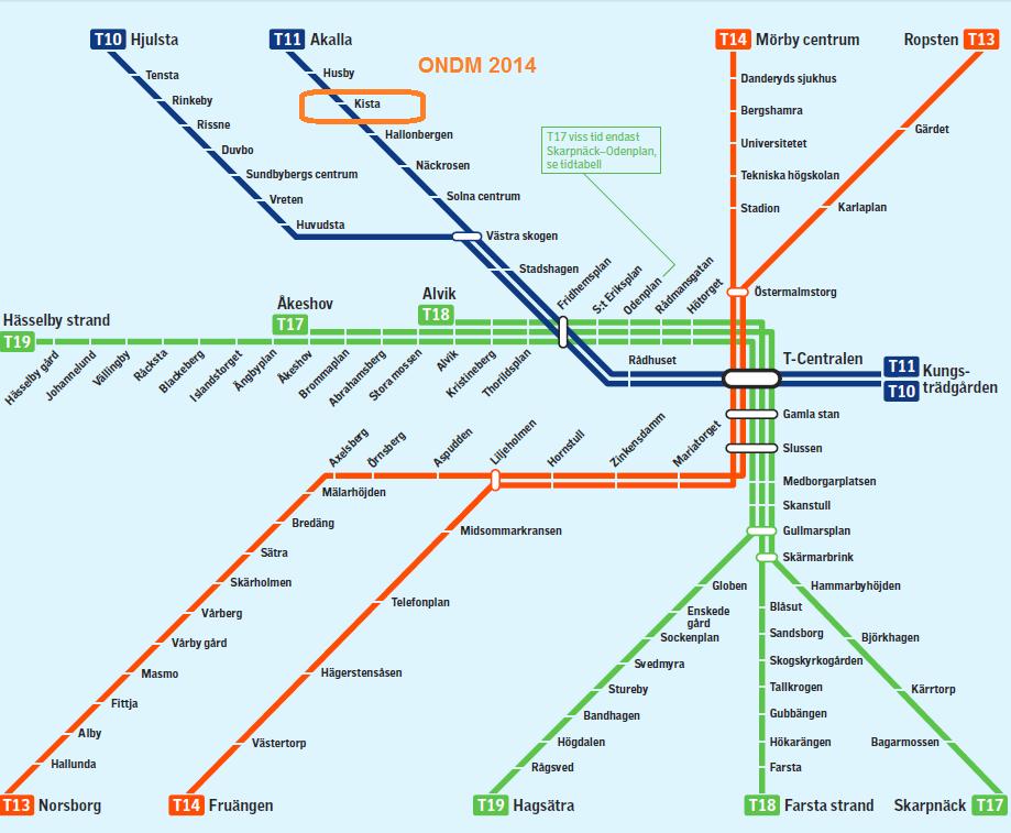 sl pendeltåg karta Venue | ONDM 2014 sl pendeltåg karta